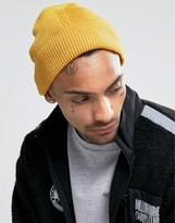 7x Mini Beanie In Mustard