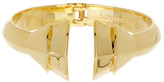 Louise et Cie Faceted Open Hinge Cuff Bracelet