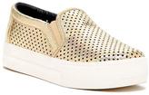 Michael Antonio Gold Perforated Sneaker