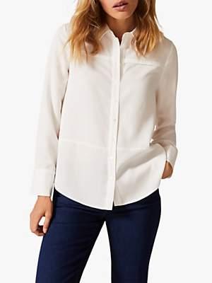 Phase Eight Jayde Shirt, Cream