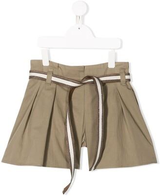 BRUNELLO CUCINELLI KIDS Pleated Shorts