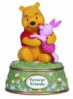 "Precious Moments Precious Moments, Disney Showcase Collection, ""Forever Friends"", Resin Music Box, #134705"