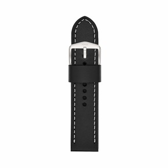 Fossil Women's 14mm Leather Interchangeable Watch Band Strap Color: Espresso (Model: S141066)