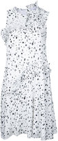 Carven dots print dress - women - Polyester - 38
