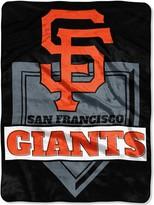 "Northwest Company The San Francisco Giants 60"" x 80"" Home Plate Raschel Plush Blanket"