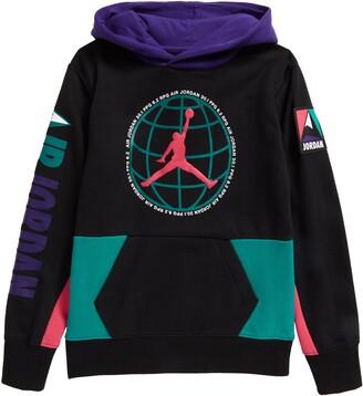 Jordan Kids' Fleece Graphic Hoodie