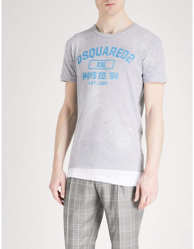 DSQUARED2 Short sleeved logo T-shirt