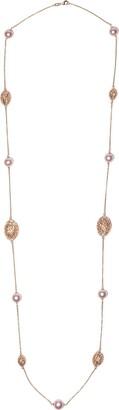 Yoko London 18kt rose gold Novus freshwater pearl necklace