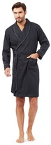 J By Jasper Conran Big And Tall Designer Navy Printed Lightweight Dressing Gown