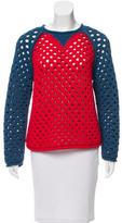 Sonia Rykiel Open Knit Sweater
