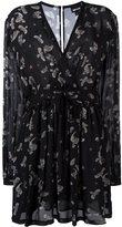 Just Cavalli eagle print dress - women - Polyester/Viscose - 38