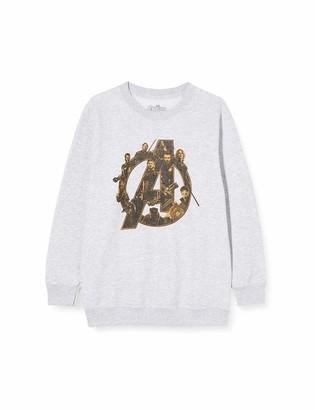 Marvel Boy's Infinity War Avengers Logo Sweatshirt
