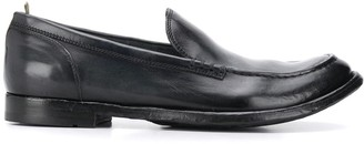 Officine Creative Anatomia 81 almond toe loafers