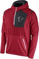 Nike Men's Atlanta Falcons Vapor Speed Fly Rush Hooded Jacket