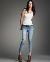 The Cropped Skinny Dust Jeans