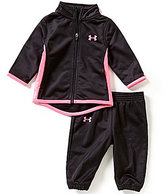Under Armour Baby Girls Newborn-24 Months Tricot Track Jacket & Pants Set