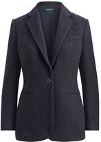 Ralph Lauren Wool-Blend Tweed Blazer
