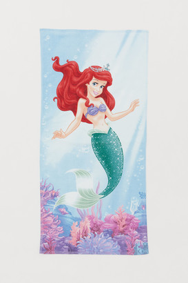 H&M Printed bath towel