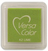 "S.t.a.m.p.s. Tsukineko VersaColor Pigment Inkpad 1"" Cube-Lime"
