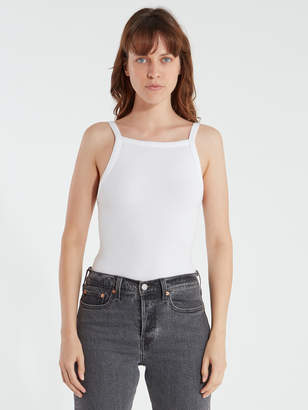 Free People Set Up Rib Knit Tank