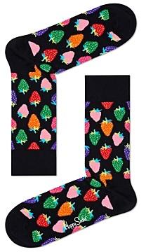 Happy Socks Strawberry Crew Socks