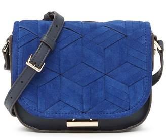 Welden Bags Mini Summit Suede & Leather Crossbody Bag