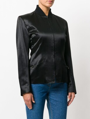 John Galliano Pre-Owned 1980s Standing Collar Jacket