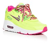 Nike Girls' Air Max 90 Low Top Sneakers - Toddler, Little Kid