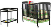 Dream On Me Full Size 4-in-1 Convertible 2 Piece Crib Set