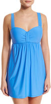 Athena Cabana Solids Swim Dress