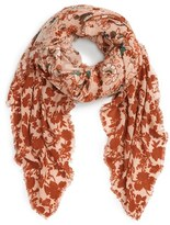 Hinge Women's Folklore Floral Print Scarf