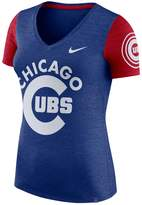 Nike Women's Chicago Cubs Dri-FIT Touch Tee
