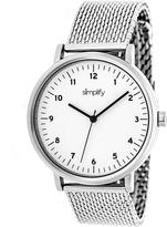 Simplify The 3200 Collection SIM3201 Women's Watch with Mesh Bracelet-Style Band