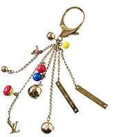 Louis Vuitton Gold-tone Monogram Key Charm.