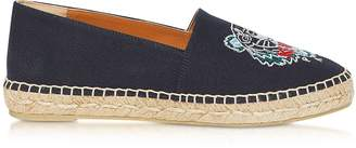 Kenzo Canvas Tiger Head Embroidery Special Fit Espadrilles