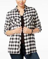 Volcom Juniors' Plaid Shirt