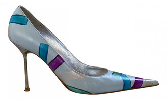 Gianmarco Lorenzi Multicolour Leather Heels