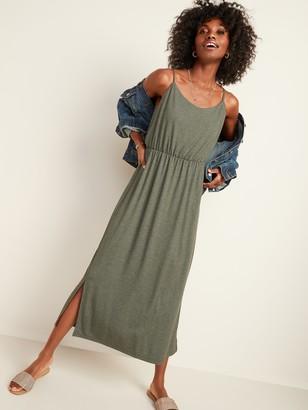 Old Navy Waist-Defined Slub-Knit Cami Maxi Dress for Women