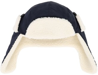 Emporio Armani Nylon Aviator Hat