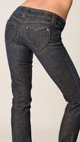 Skinny Long Heart Pocket Jean