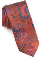 Ted Baker Men's Floral Woven Silk Tie