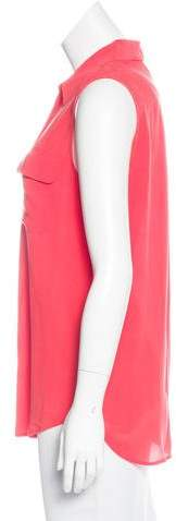 Equipment Silk Sleeveless Top