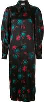 Ganni floral print midi dress
