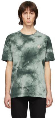 Nudie Jeans Green Tie-Dye NJCO Circle T-Shirt