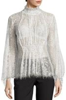 Alice McCall Love Myself Floral Lace Blouse