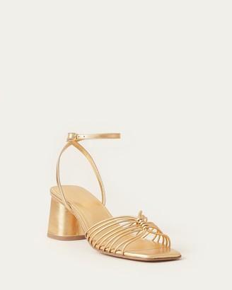 Loeffler Randall Portia Strappy Sandal Gold