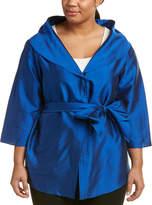 Marina Rinaldi Plus Fiorenza Silk Jacket