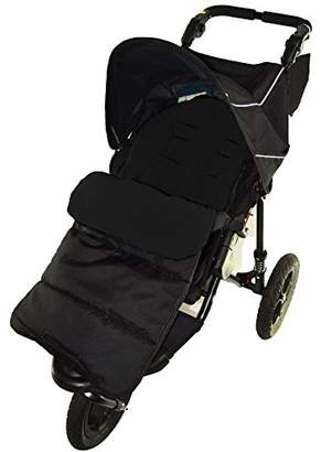 N. Footmuff/Cosy Toes Compatible with Out About Nipper Single 360 Pushchair Black Jack