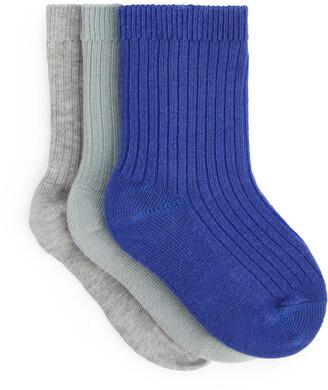 Arket Rib Knit Socks