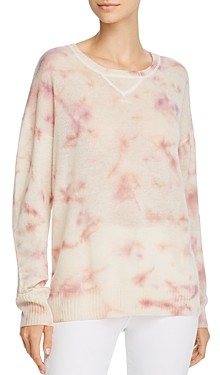 Bloomingdale's C by Tie-Dye Cashmere Sweater - 100% Exclusive